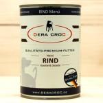 DERA CROC RIND Premium Menü mit Karotten & Distelöl